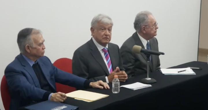 Será Santa Lucía la sede del nuevo aeropuerto, López Obrador lo confirma.